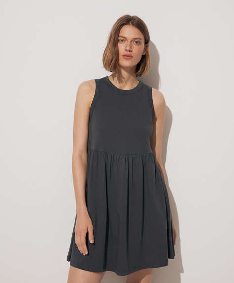 Short 100% cotton dress