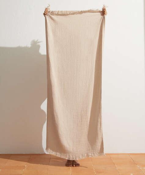 Leichtes Handtuch aus 100% Baumwolle