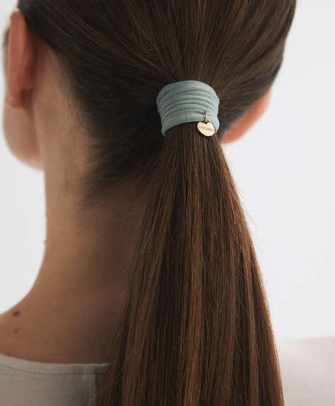 6резинок для волос с логотипом Oysho на пластинке