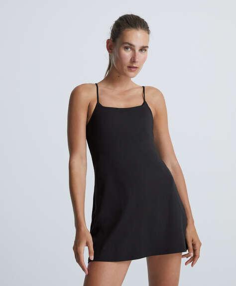 Strappy compressive dress