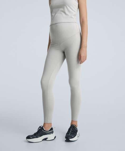 Maternity comfort ankle-length leggings
