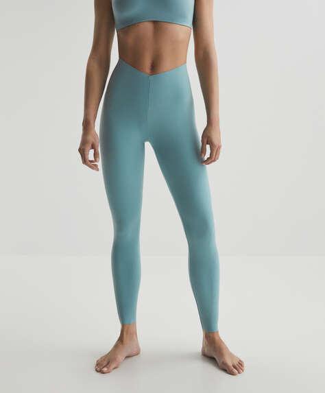 Light touch ankle-length leggings