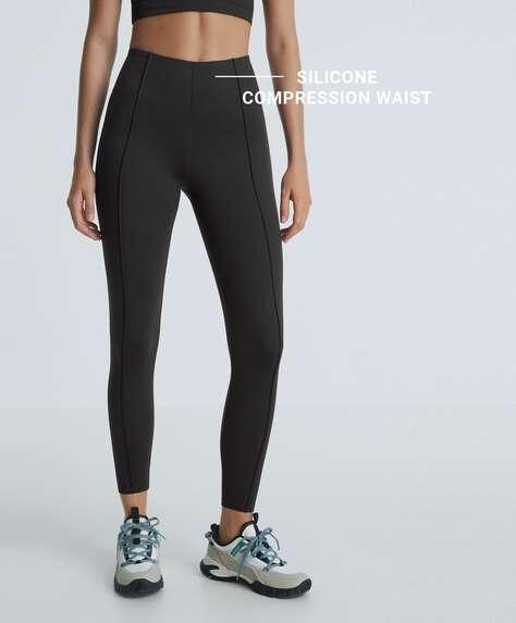 Ankle-length leggings in high-strength fabric
