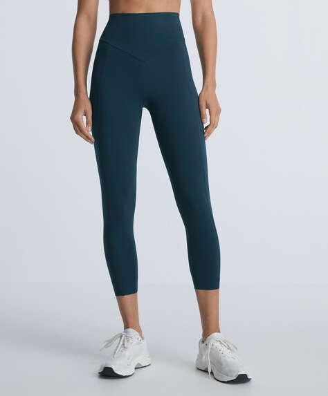 Compressive crop leggings