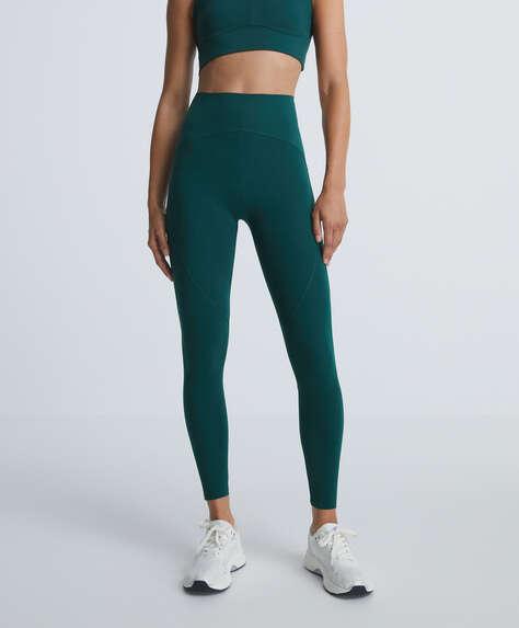 Compressive ankle-length leggings