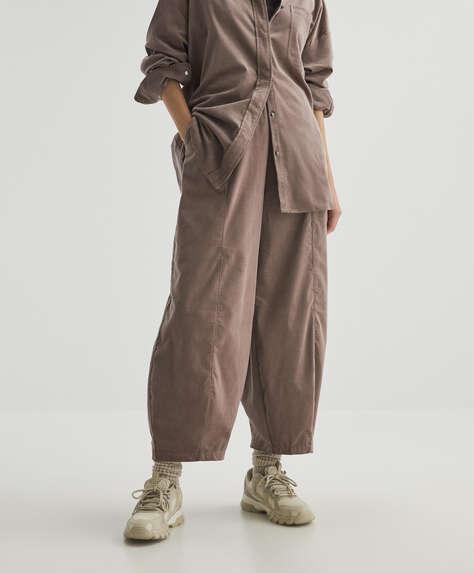Pantalón ancho micropana