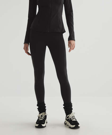 Comfort warm ankle-length leggings