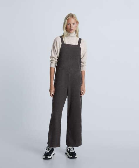 Flannel jumpsuit
