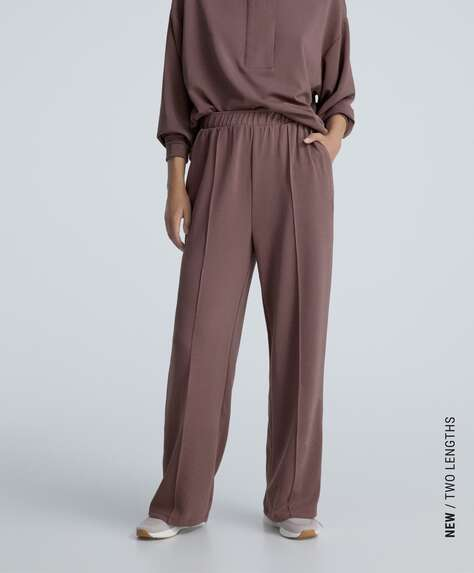 Soft touch modal trousers