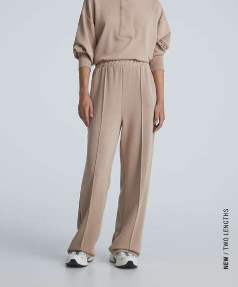 Παντελόνι μοντάλ με απαλή υφή