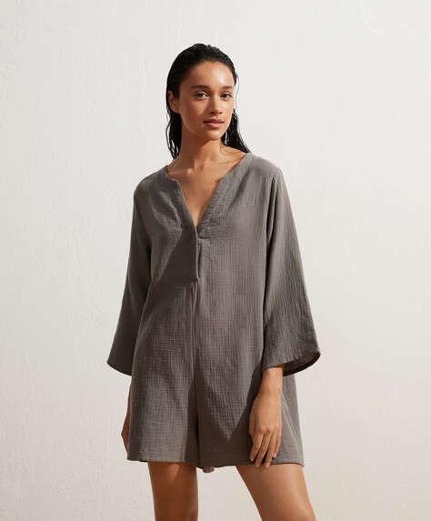 Kleid aus 100% Baumwolle