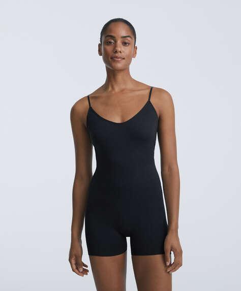 Soft touch short jumpsuit