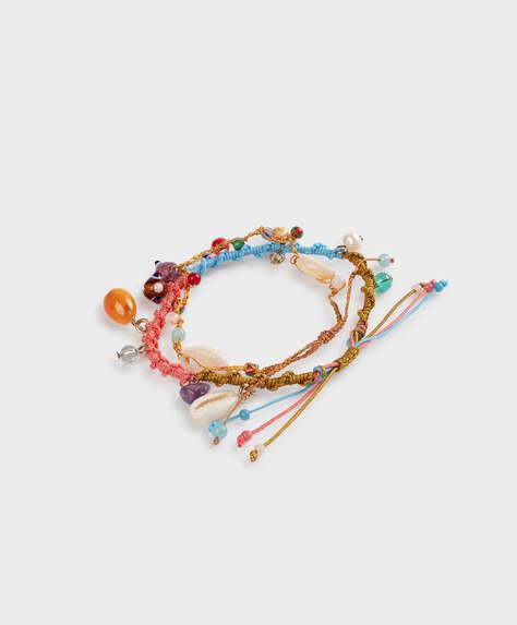 2 tropical bracelets