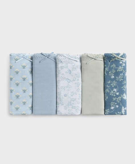 5 cotton Brazilian briefs