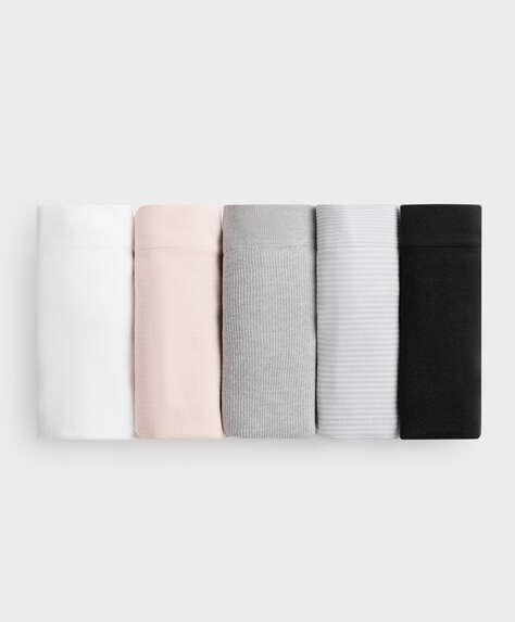 5 culottes classiques seamless