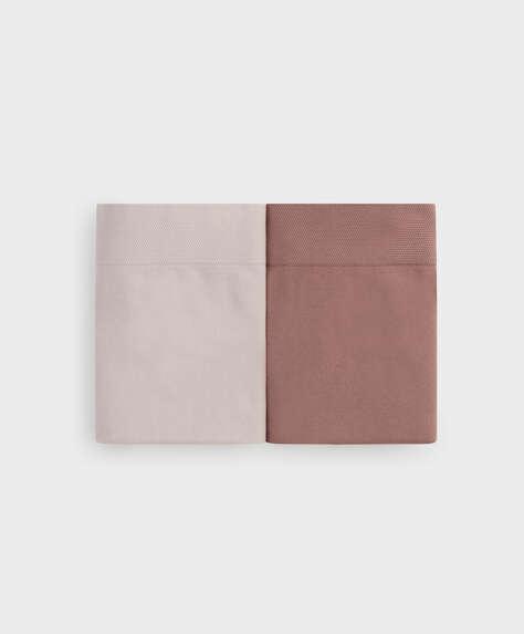 2 chiloți cu talie înaltă seamless soft touch