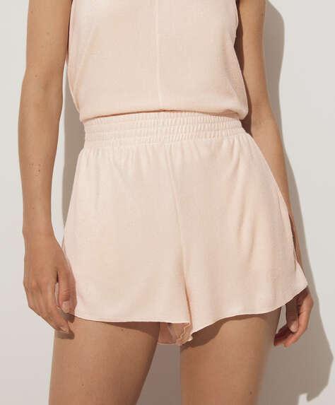 Plain towelling shorts