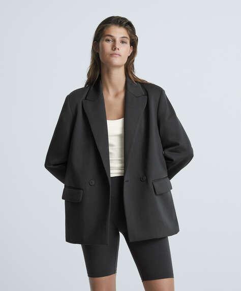 Blazer in high strength fabric