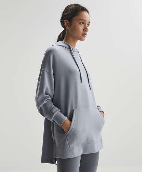 Sweatshirt oversize de modal macio