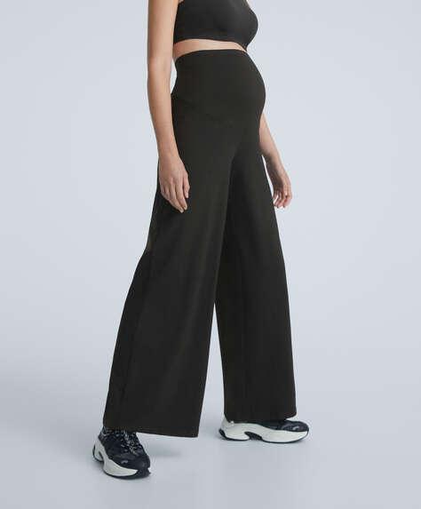 Pantalón ancho comfort maternity