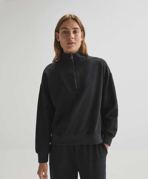 Sweatshirt de algodão warm