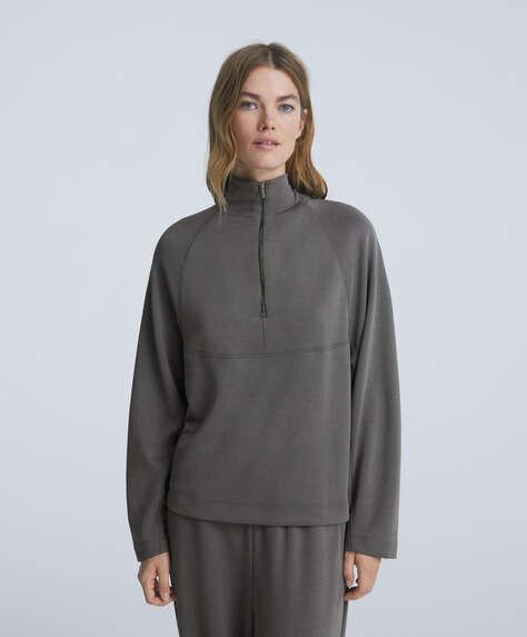 Soft touch modal sweatshirt