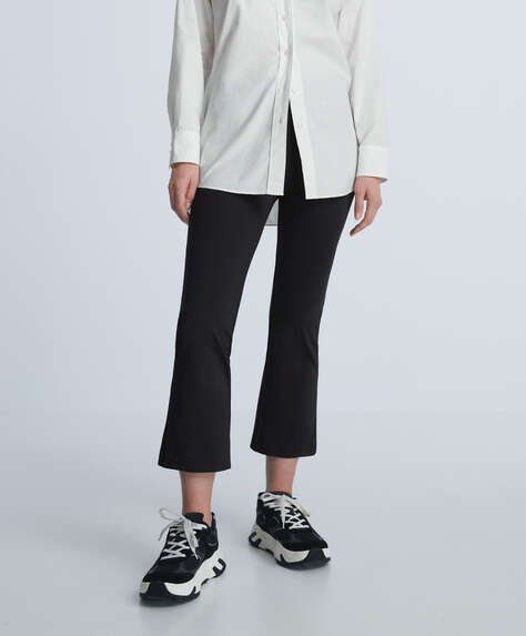 Crop flare Comfort trousers