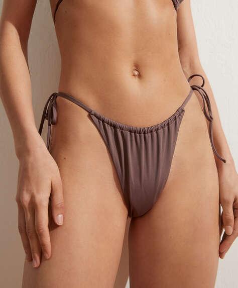 Slim slide Brazilian bikini briefs