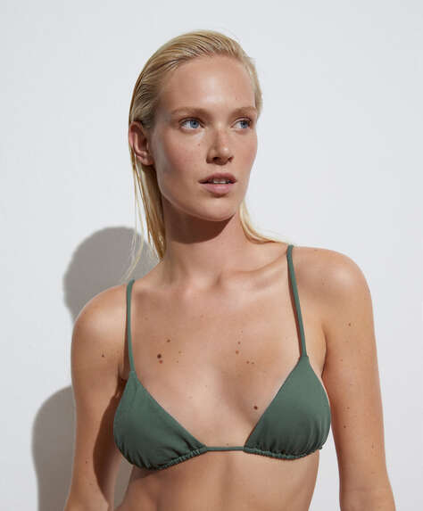 Bikini triangolare slim tendina