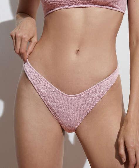Smock cotton Brazilian bikini briefs