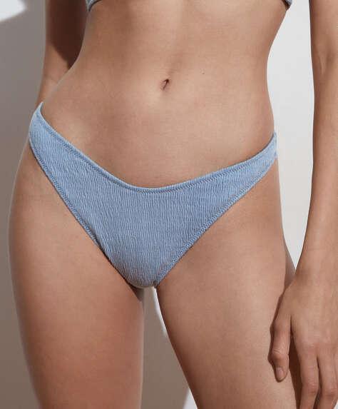 Brazilian bikinibroekje van katoen met U-vorm en smock