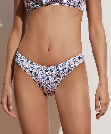 Ditsy floral U-cut bikini briefs
