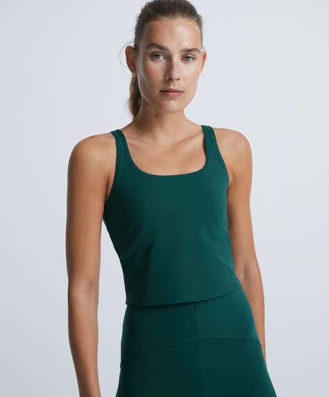 Compressive vest top