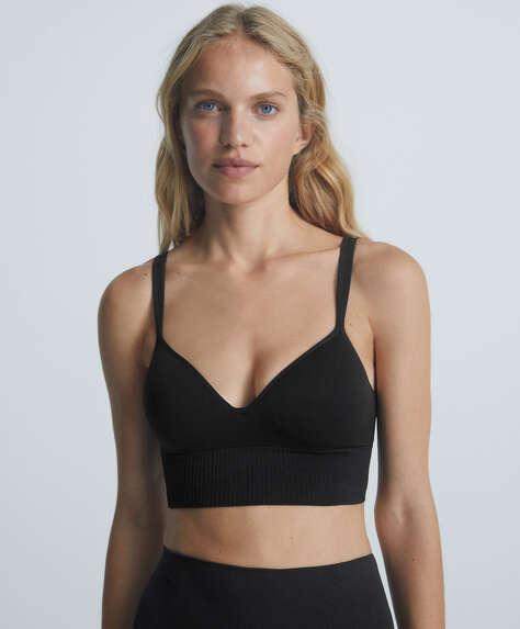 Multiway back seamless bra