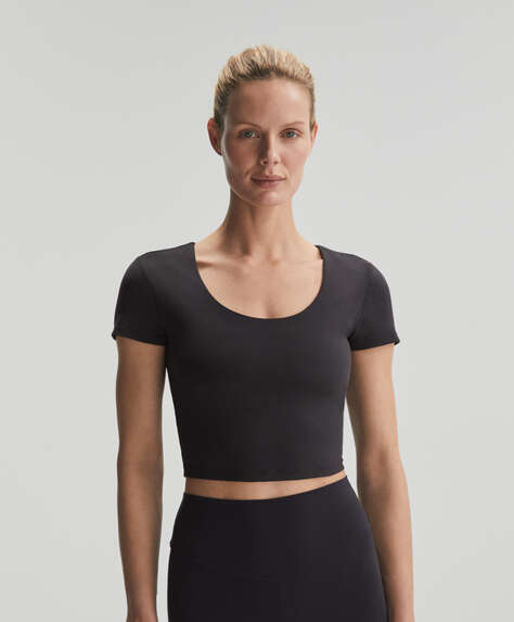 Короткая футболка с короткими рукавами Comfortlux