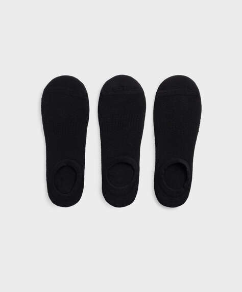 3 pairs of footsie sports socks