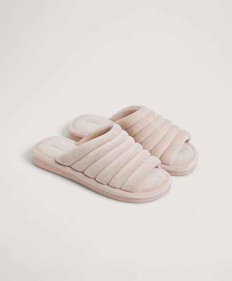 Padded wide slides