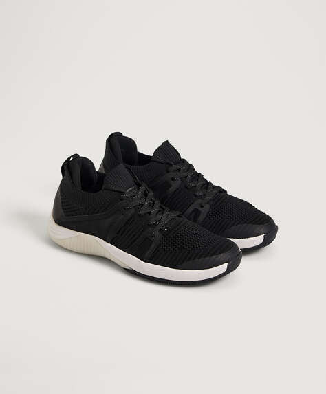 Mesh detail trainers