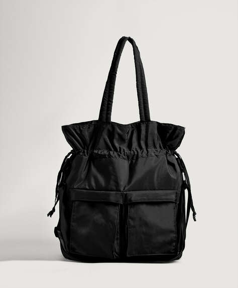 Ruched bag