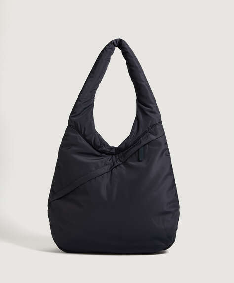 Padded oval bag