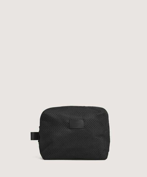 Mesh gym wash bag