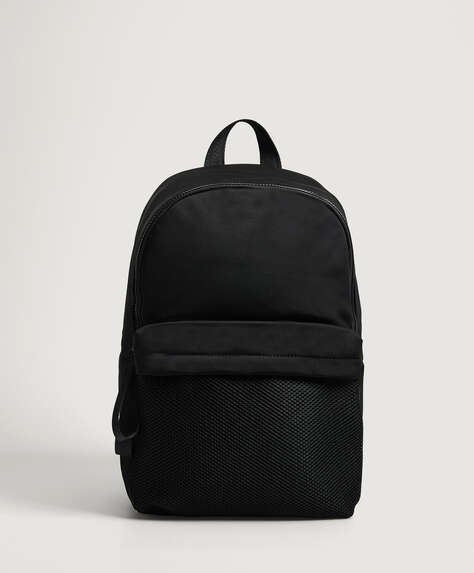 Mesh gym backpack