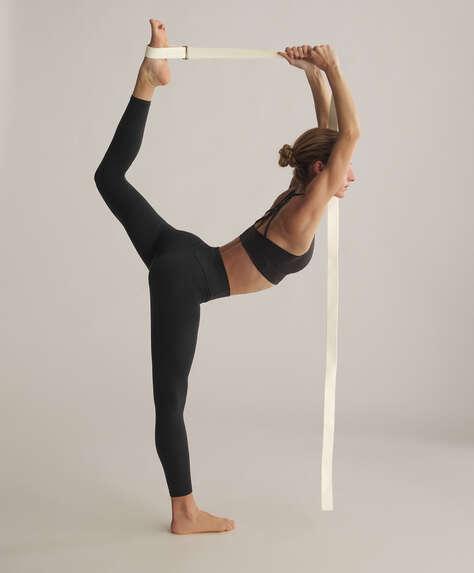 Natural yoga strap