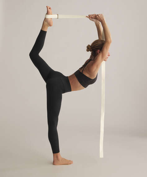 Sangle de yoga naturelle