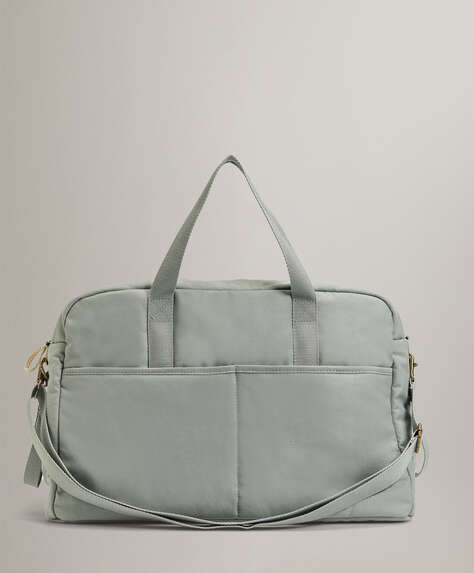 Canvas maternity bag