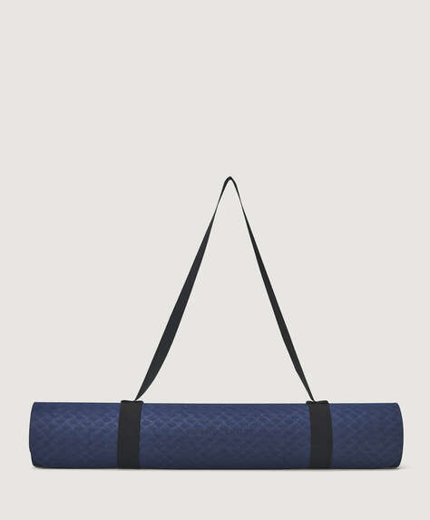 Blue 6mm yoga mat