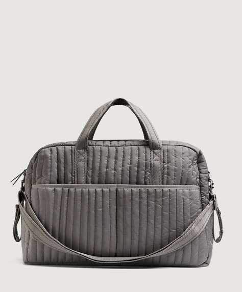 Padded maternity bag