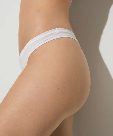 Cotton comfort tanga briefs