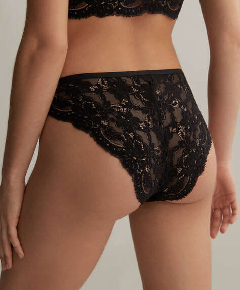 Soft lace classic briefs