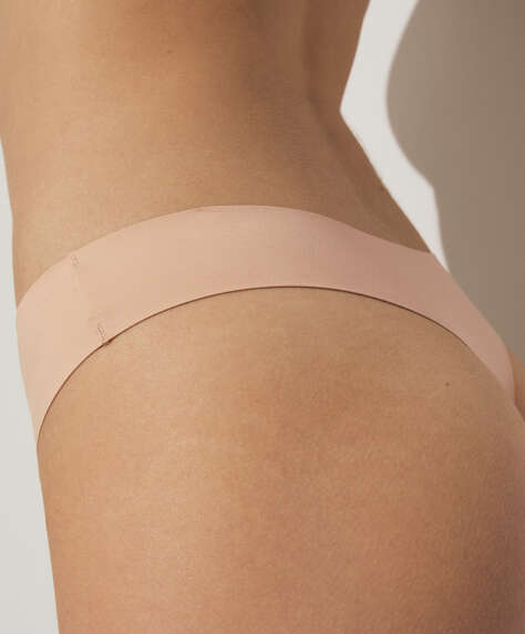 Microfibre invisible hipster briefs